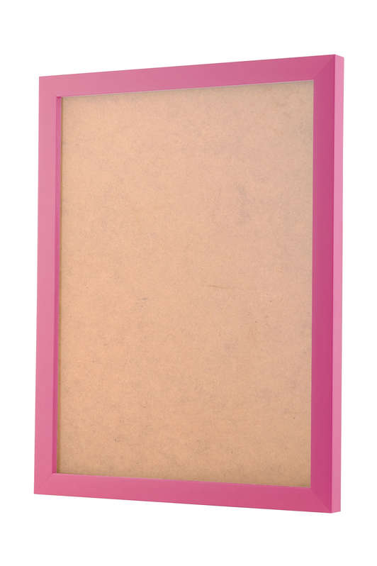 Pink picture frame
