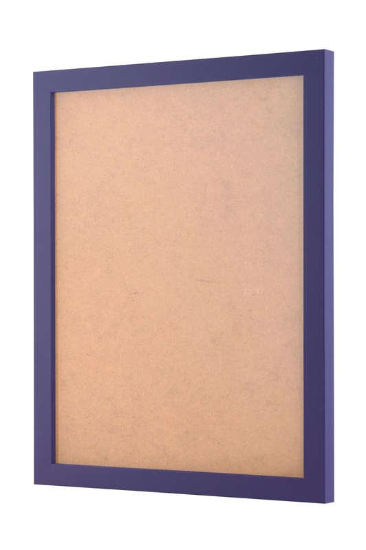 Purple picture frame