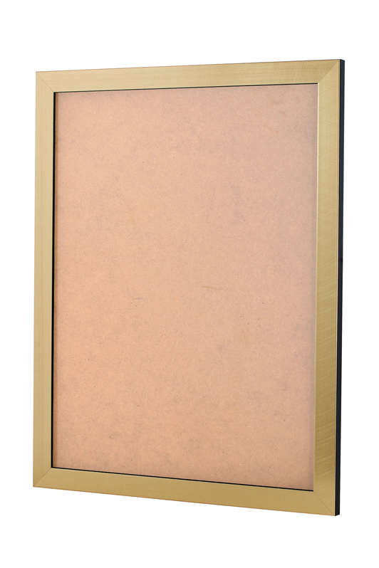Scratched Gold picture frame