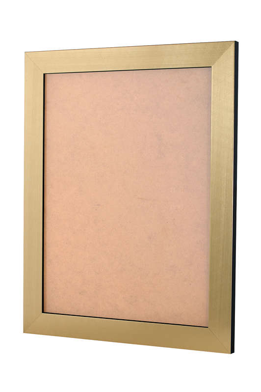 Scratched Gold picture frame 36mm