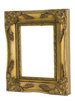 Gold picture frames online available at Best4Frames