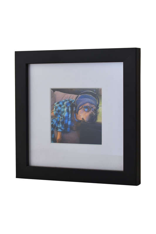 Black Photo frame for Instagram Prints
