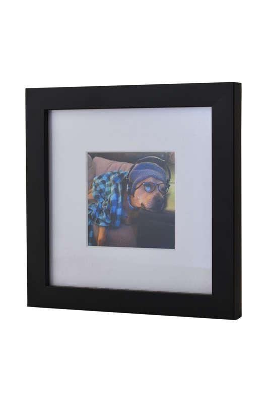 Black Photo frame for Instagram Prints