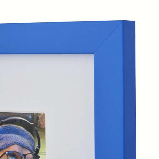 Blue Photo frame for Instagram Prints