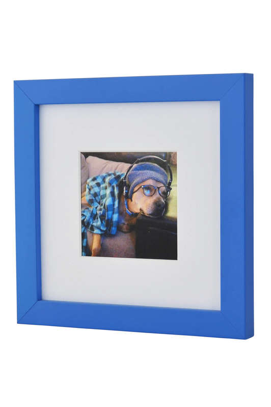 Blue Photo frame for Instagram Prints
