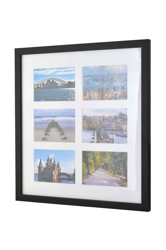 Picture frame for 6 postcards