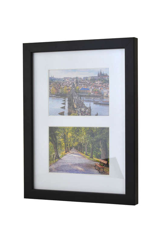 Picture frame for 2 postcards