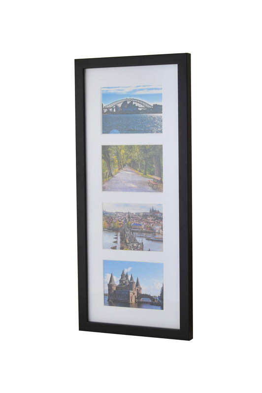 Picture frame for 4 postcards