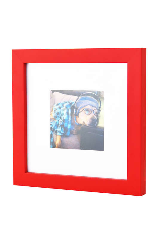 Red Photo frame for Instagram Prints