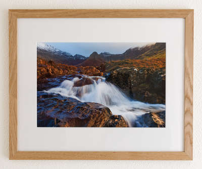 The Fairy Pools - custom picture frame