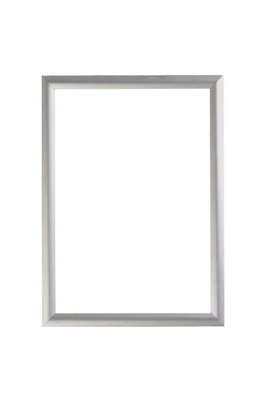 B4F Snap Frame Silver 25mm - Double Sided