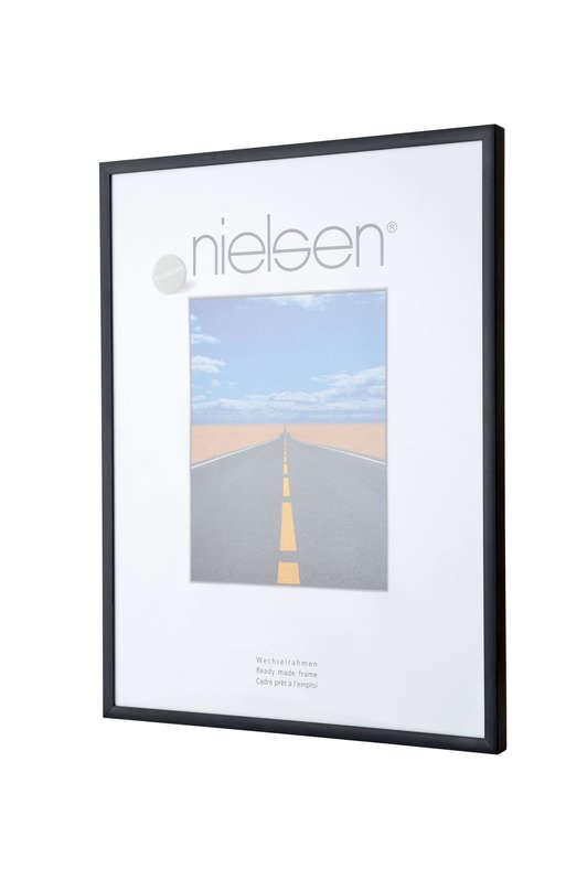 Nielsen Pearl Matt Black Acrylic Glazed