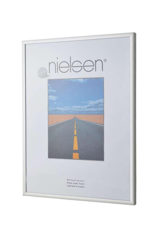 Nielsen Pearl Matt Silver Acrylic Glazed