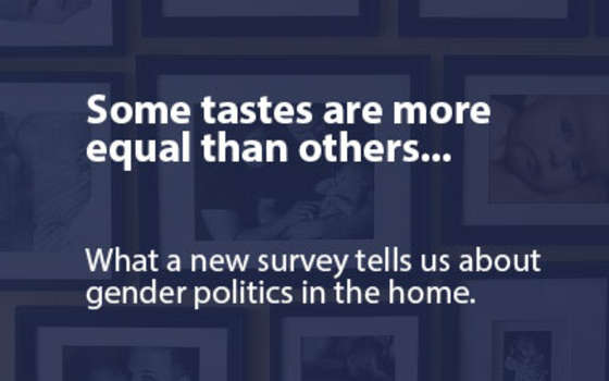 Some Tastes are More Equal Than Others: What A New Survey Tells Us About the Gender Politics Of Art In The Home