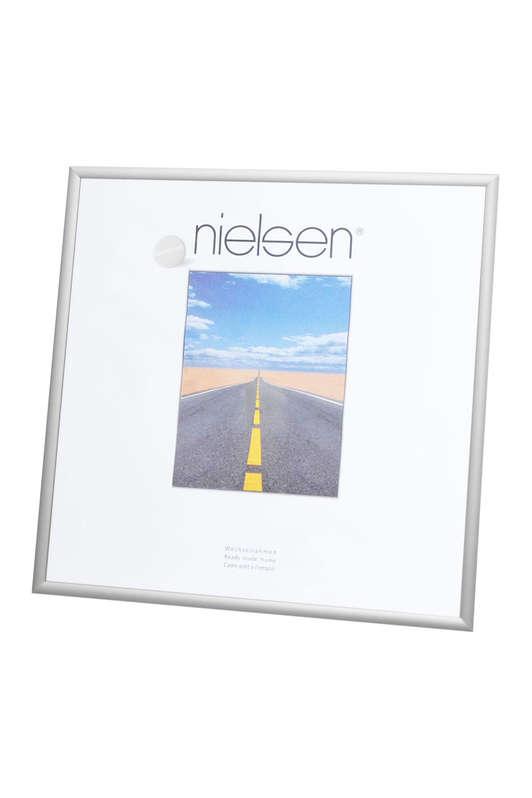 Nielsen Pearl Matt Silver Glass Glazed