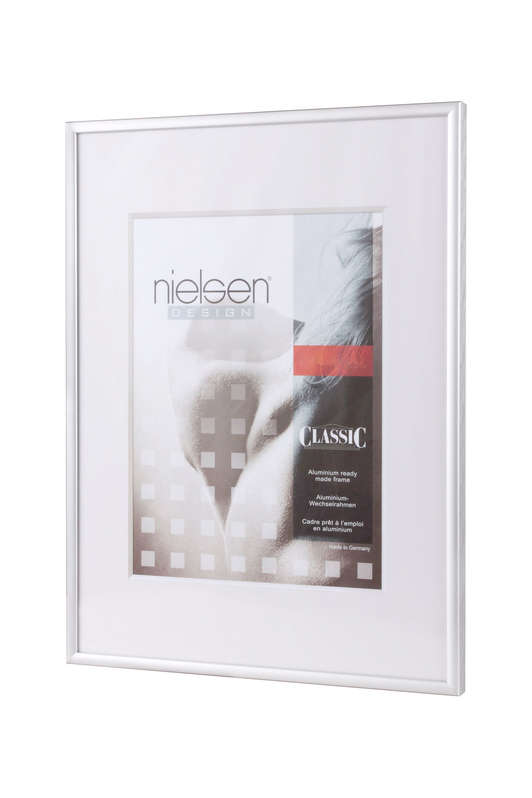 Nielsen Classic Frosted Silver