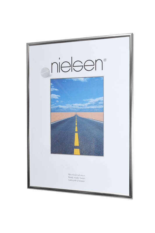 Nielsen Pearl Polished Silver Glass Glazed