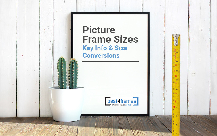 picture frame sizes - header image