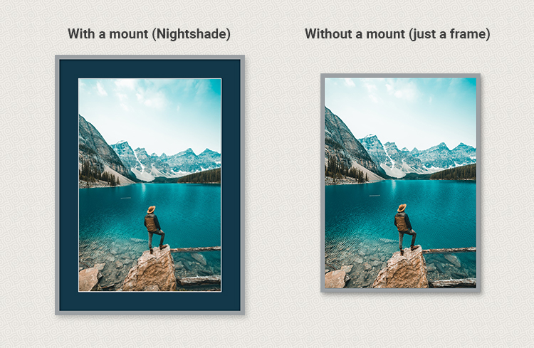 with mount or without mount image