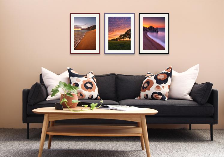 interior design contract picture framing