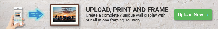 PAF Promo banner - picture frame sizes