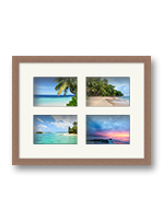 Multi aperture photo frames available online at Best4Frames