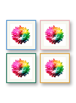 Colourful picture frames available online at Best4Frames