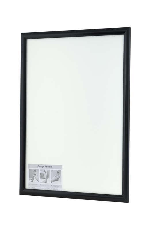 B4F Snap Frame Black 25mm
