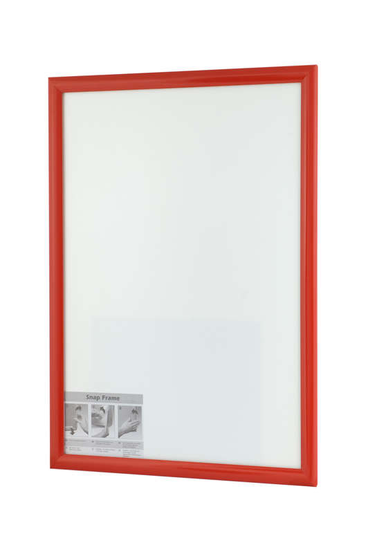 B4F Snap Frame Red 25mm