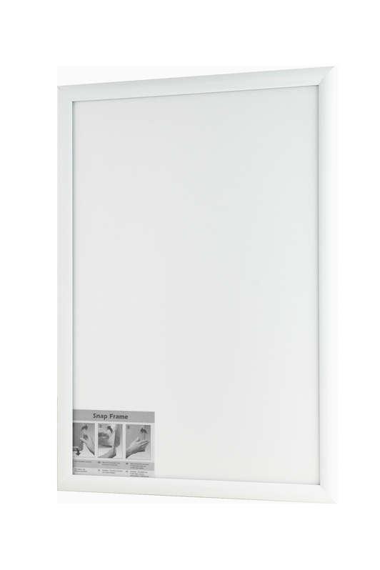 B4F Snap Frame White 25mm
