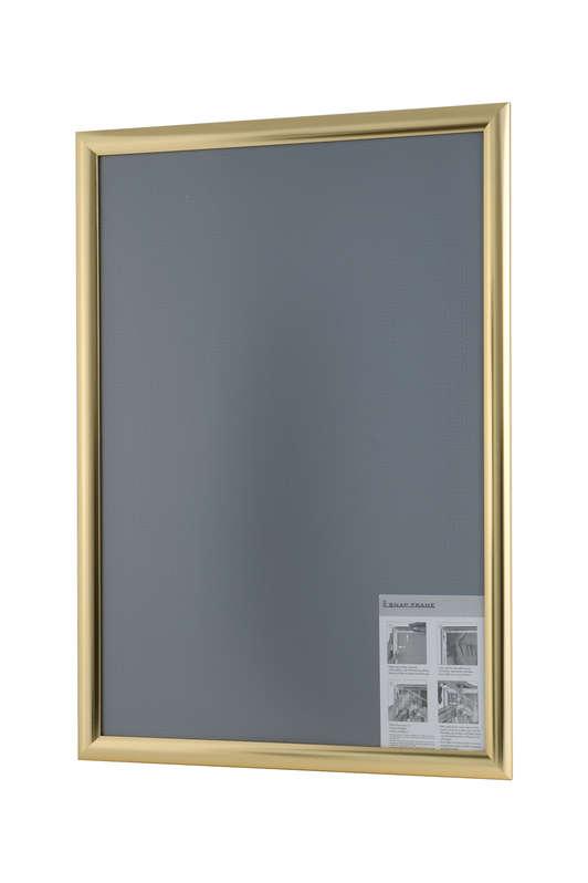B4F Snap Frame Polished Gold 25mm