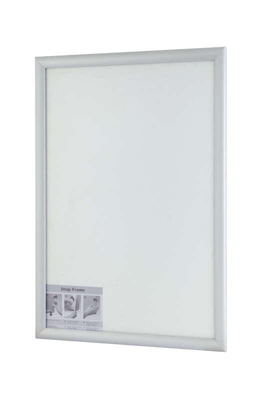 B4F Snap Frame Silver 25mm