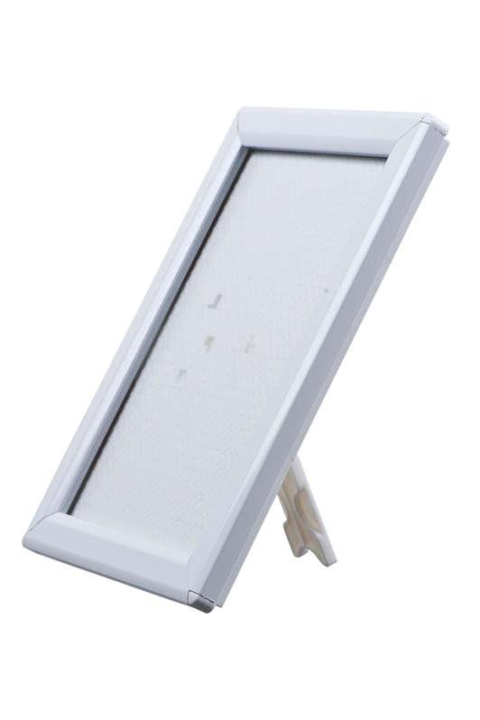 B4F Opti Snap Frame Silver 14mm - Freestanding
