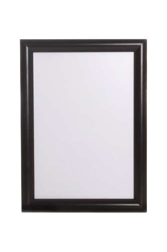 Snap Frame Black 25mm - Tamper Resistant