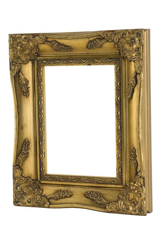 Swept Frame Gold (UNGLAZED)